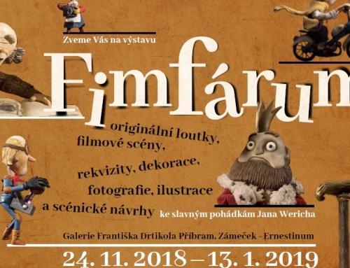 Výstava k filmu Fimfárum v Příbrami